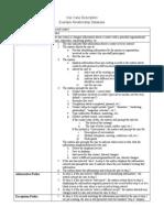 Use Case Description Example
