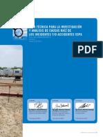 Guía Técnica Investigación y Análisis Causa Raíz de Incidentes Accidentes  SSPA