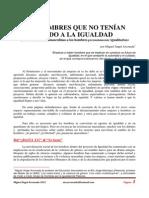 Los Hombres Que No Tenían Miedo a La Igualdad 2010 Ayuntamiento de Ourense