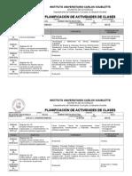 Planificacion de Actividades Rrii 2014-i
