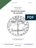 Rapport Veritable Cle de Magie de Salomon