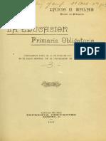 Darío Salas (1910) La Educación Primaria Obligatoria