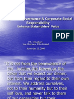 Corp Govn Social Responsibility Ppt 1
