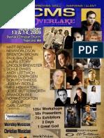 CMS Overlake 2009 - Event Program