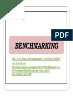 Benchmarking Espanol -Planificacion