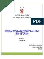 PIP Sector Salud_II