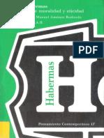 Habermas Jurgen - Escritos Sobre Moralidad Y Eticidad
