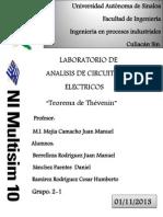 Reporte de Practica VI. Lab de Analisis