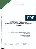 Manual Procesos Servicio Profesional Carrera Policial