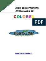 Catalogo de Productos de Masas Huerto y Mar