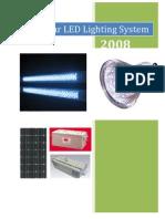 Solar LED Lighting System