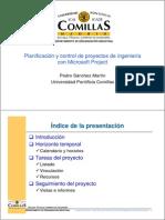 Pedro Sanchez Planificacion y Control de Proyectos Con MS Project