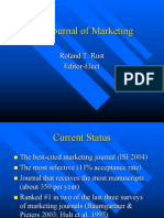 Roland Rust Journal of Marketing