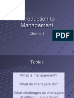 Introduction to Management Class