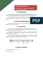 Conceptos Musicales