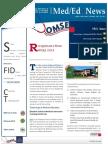UA OMSE Med/Ed eNews v2 No. 08/09 (Mar/Apr 2014)