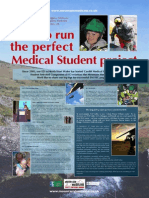 How to run the Perfect Medical Student Project - Conference Poster