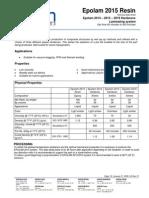 TDS - Epolam 2015 System - US REV 01