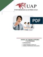 Trabajo Academico de La Contitucion de La Empresa