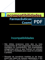 INCOMPOMPATIBILIDADES FARMACEUTICAS