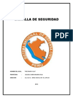 Cartilla de Seguridad Caratula
