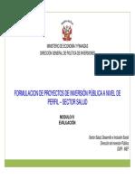 PIP Sector Salud_III