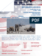 May - Awards and LA AFB Luncheon