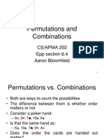 11 Permutations and Combinations