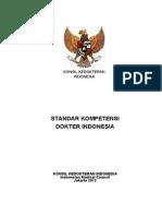Perkonsil No 11 Th 2012 Ttg Standar Kompetensi Dokter Indonesia 2012