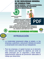 Diapositivas Sesi+¦n 15-Seguridad Minera