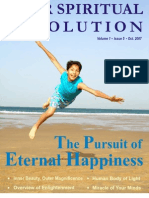 The Pursuit of Eternal Happiness - Your Spiritual Revolution - Oct. 2007 Issue