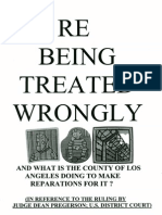 re MISTREATMENT of L.A. COUNTY JAIL INMATES, WHETHER RIGHTLY or WRONGLY IN JAIL...