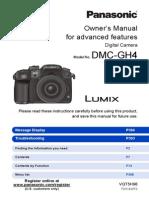 Gh4 pdf panasonic manual