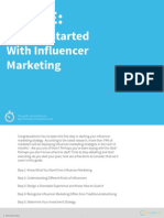getting started with influencer marketing guide