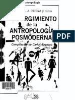 Geertz, C. Et Al. - El Surgimiento de La Antropología Posmoderna
