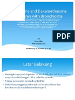 Jurnal-Epinephrine and Dexamethasone in Children With Bronchiolitis