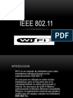 Ieee 802.11(Exposicion Wifi)