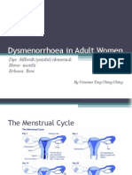 Dysmenorrhoea in Adult Women