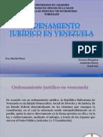 Ordenamiento Jurídico en Venezuela Definitivo