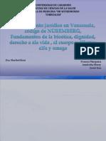 Ordenamiento Jurídico en Venezuela, Código de NÜREMBERG