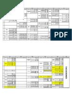Horario Examenes Finales 2009-3