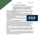 teaching competencies  instructional strategies
