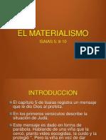 El Materialismo. Versos 8-10