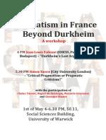 Pragmatism in France