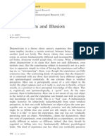 Smith, A. D. 2010, Disjunctivism and Illusion