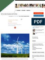 top 10 wind training institution