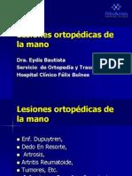 Lesiones Ortopédicas de Mano 2