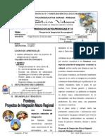 Modulo Proyectos de Integracion Macroregional 3ero 2013