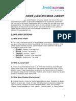 Judaism FAQ