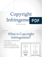 copyright infringements